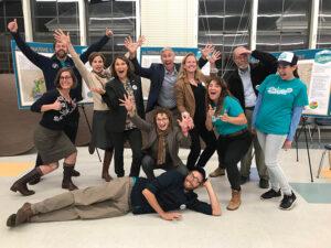 Group photo of California Coastal Conservancy staff members